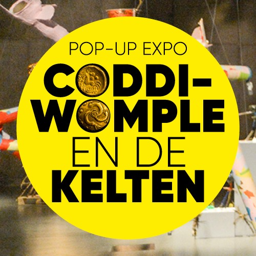 Pop-up expo Coddi Womple en de kelten