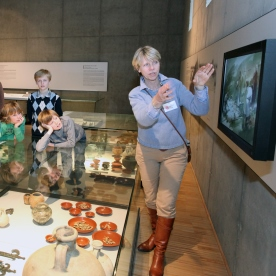 Guided tour in the museum